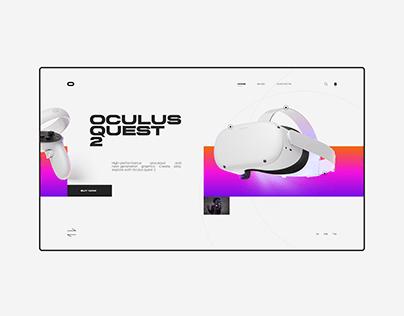 Oculus Quest 2 / Website