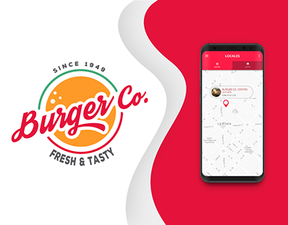 Burger Co. | Brand and Concept App