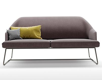 Bonaldo Blazer sofa 3D-modelling