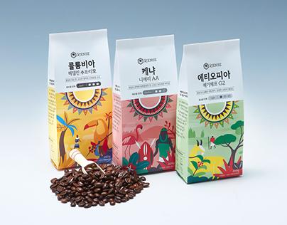 Coffee Scense Branding & Packaging
