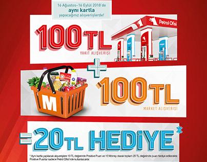 Petrol Ofisi & Migros - Hem Yakıt Hem Market Kampanyası