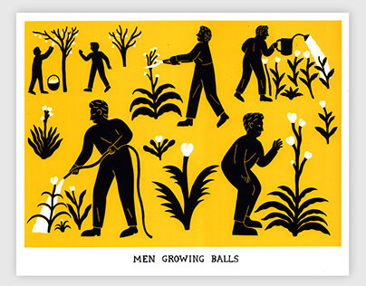 Men Growing Balls