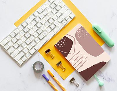 Cafe Notebook Set Design
