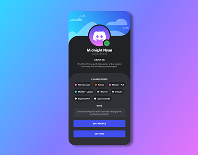 DailyUI Challenge • #006: User Profile