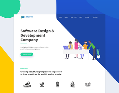 Software Company Website Redesign