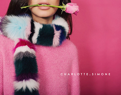 Charlotte Simone website design