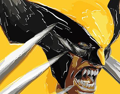 Illustration - Wolverine