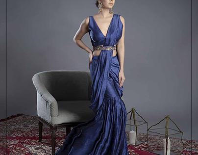 Indian Wear : Gharara Saree
