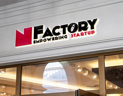 Logo de la Nfactory, un accélérateur Normand