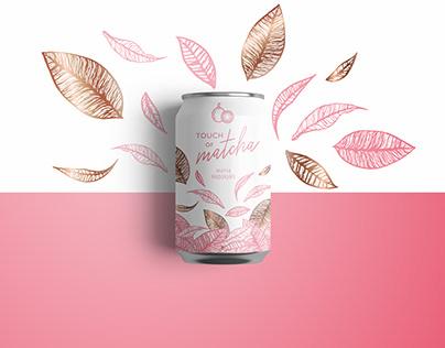 Label for tea matcha