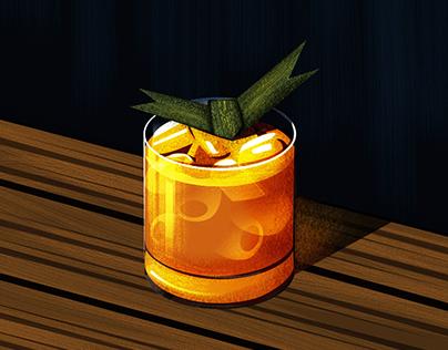Tea, Coffee & Mocktail Illustrations