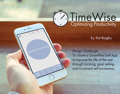 """""""TimeWise"""" Productivity iPhone App"""