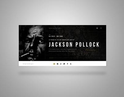 POLLOCK Website Concept
