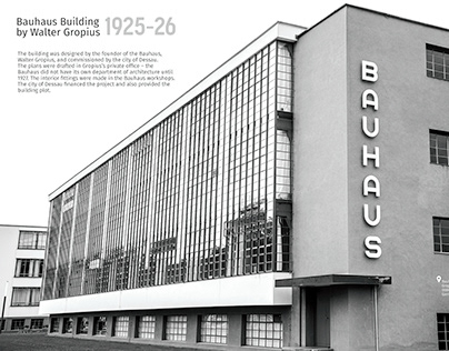 Bauhaus Dessau - Photo coverage