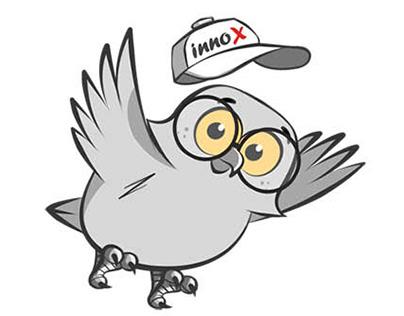 Innox owl mascot design 2017-18