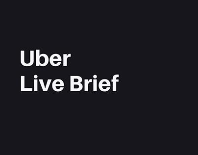 Digital Mandate   Live Brief: Uber