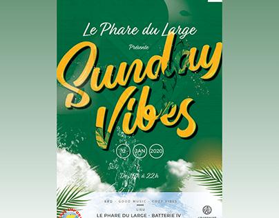 Sunday Vibes Flyer