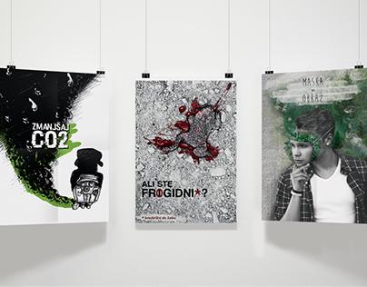 Awareness poster series