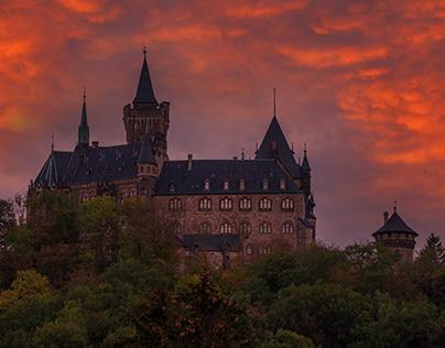 Schloss Wernigerode, Harz, Deutschland