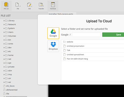 Usonia Labs Cloud Manager