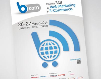 Bcom | Logo Design, Advertising
