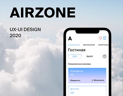 Airzone Cloud. UX/UI desigh of web-portal