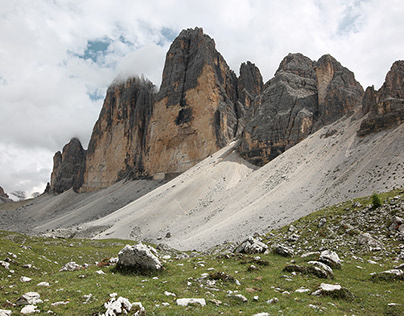 When Clouds Kissed Tre Cime