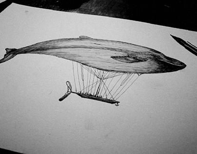 airship whale