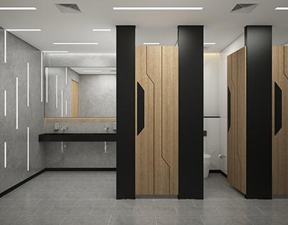 Public toilet design