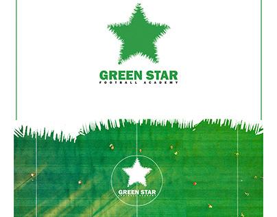 #GREEN_STAR #LOGO #FOOTBALL