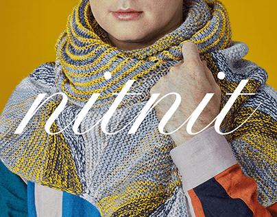 Knitting Magazine Concept & Layout
