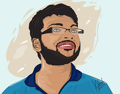 Illustrator Portrait #1
