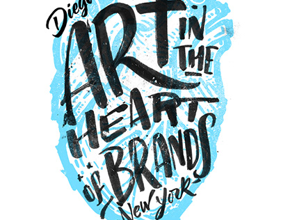 ART IN THE HEART OF BRAND : : EXPO IN NYC