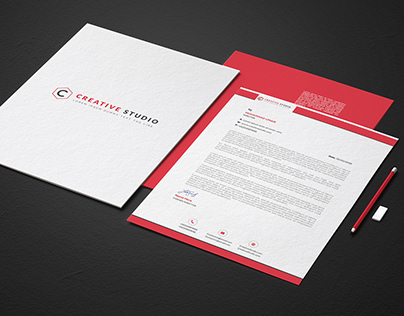 Letterhead Design Free PSD