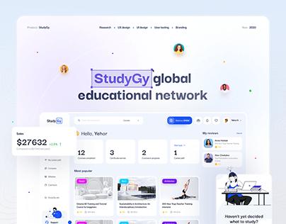 UX case study | Studygy - Learning platform