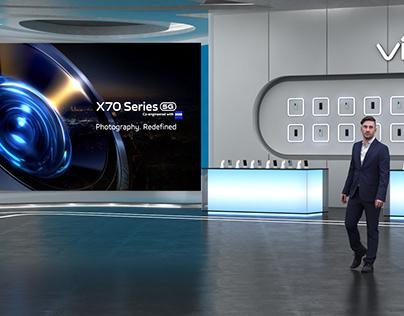 VIVO X70 Virtual Launch