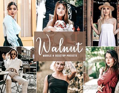 Free Walnut Mobile & Desktop Lightroom Presets