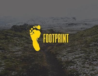 Footprint branding concept