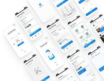 Community & Repair Booking App (UXMP Project)