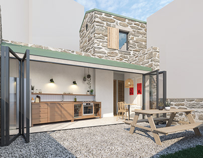 Summer House Visualization / TURKEY