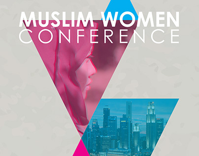 Muslim Women Conference Event Branding