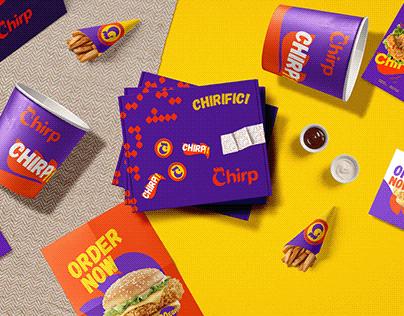 Chirp brand design.