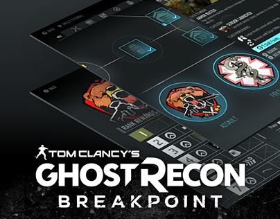 Ghost Recon Breakpoint - UI Art
