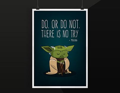 Poster - Yoda