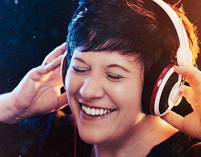 Headphone Portrait Shot