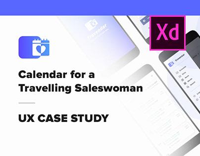 Design Solution | Calendar for a Travelling Saleswoman