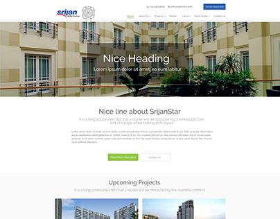 Website Design for Real Estate Company using wordpress