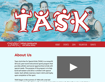 TASK Sports | Non-Profit Website Redesign
