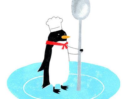 Penguin's chef
