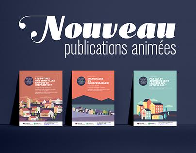 Publications animées et interactives